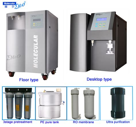 master water conditioning corp uv l 10l h lab water ro system purification deionized water