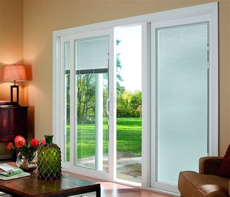 Sliding Door With Blinds by Sliding Glass Doors With Blinds
