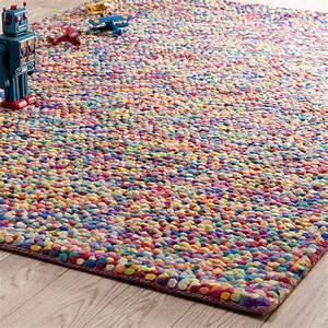 Wollteppich RAINBOW 140 X 200 Cm Bunt Maisons Du Monde