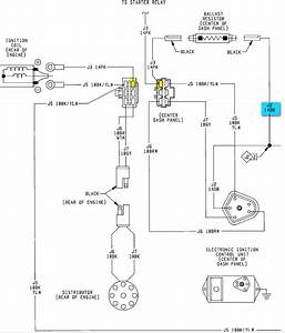 Ignition Wiring Diagram 1988 Dodge 360