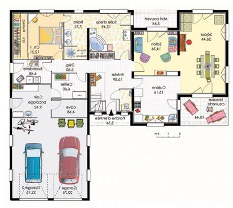 plan de maison de plain pied avec 3 chambres free plan de maison de plain pied gratuit with plan maison