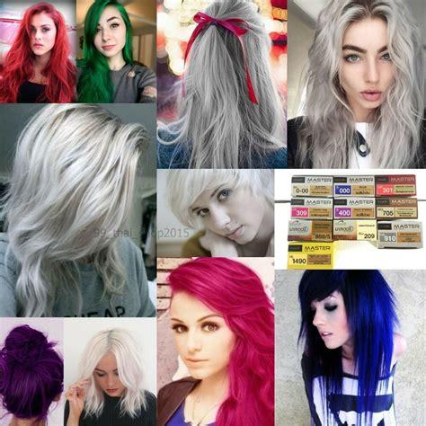 Dcash Master Hair Color Cream Permanent Dye Greywhite