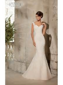 wedding and bridesmaid dresses mori 5316 ivory silver lace fishtail wedding dress size 12