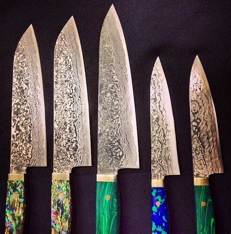 kitchen knives japanese kin knives damascus folded