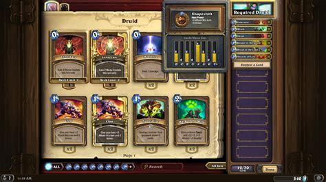 druid r deck cheap hearthstone druid token legendary rank cheap deck