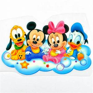 10 pcs of baby Mickey & Minnie Mouse Donald Duck Pluto ...