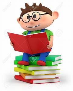 Little Kid Reading Clipart (63+)