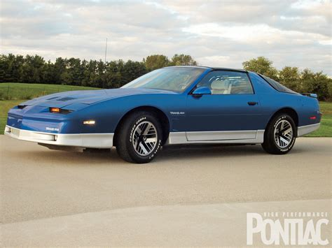 how cars run 1986 pontiac firebird trans am electronic valve timing 1986 pontiac trans am hot rod network