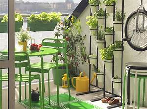 amenagez votre balcon pour un espace fleuri et deco elle With exemple de jardin de maison 9 besoin daide et didees pour amenagement saloncuisine