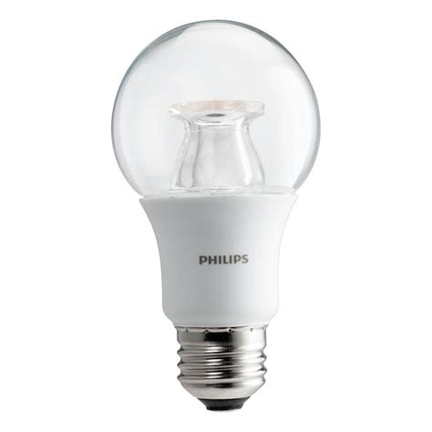 philips a19 dimmable led l upc 046677458829 philips lightbulbs 60w equivalent soft