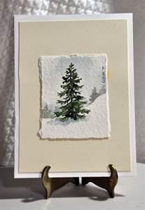 Miniature Watercolor Paintings Winter