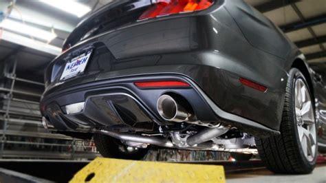 mustang gt   stainless works factory