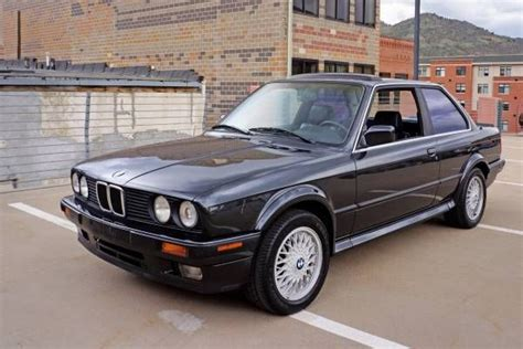 Bmw 3-series Coupe 1989 Black For Sale. Wbaab0308k8135187