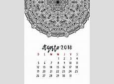 Calendario 2018 para Imprimir y Colorear – Mama Inventiva