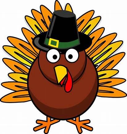 Turkey Clip Clipart Thanksgiving Cartoon Feast Tail