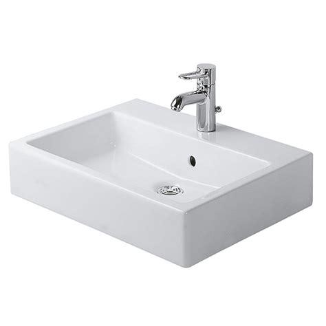 basins plumbing world duravit vero mm basin