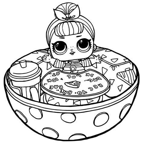 Kleurplaat Lol by 40 Free Printable Lol Dolls Coloring Pages