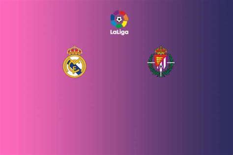 La Liga LIVE: Real Madrid vs Valladolid Head to Head ...
