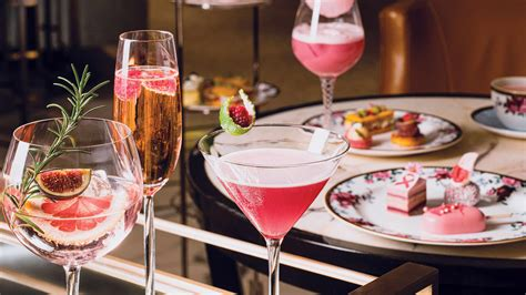langham hong kong supports breast cancer awareness month  pink afternoon tea