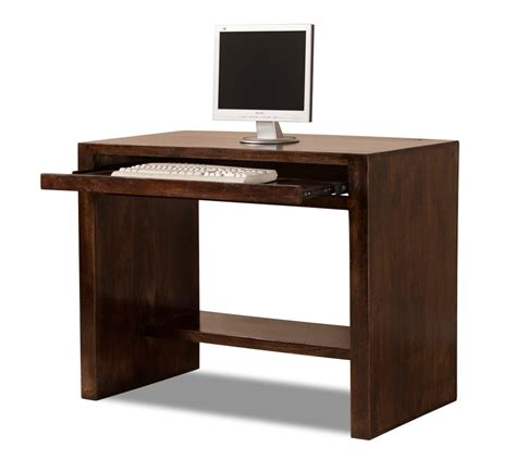 solid mango wood computer desk casa bella handcrafted