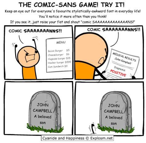 Comic Sans Meme Generator - cyanide happiness explosm net
