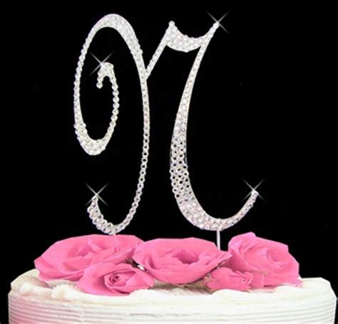 letter  cake topper wedding cake topper  jen