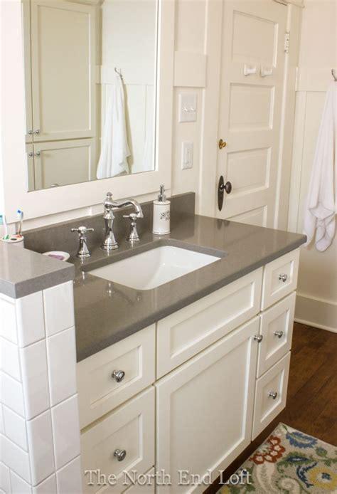 gray quartz countertops ideas  pinterest
