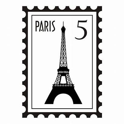 Paris Stamp Clip Atari Discover