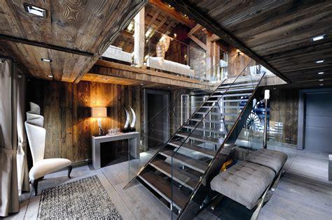 chic modern rustic chalet   rhone alpes idesignarch interior design architecture