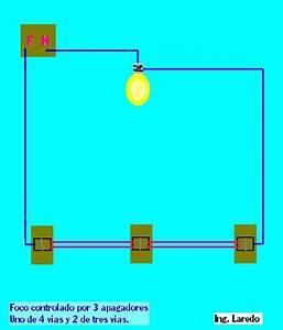 Diagrama Apagador 4 Vias