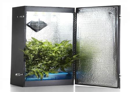 Hydro Closet by Things You Need For A Small Hydroponic Closet