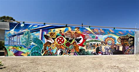 Chicano Park Murals Meanings by Cycles Of Change El Coyote
