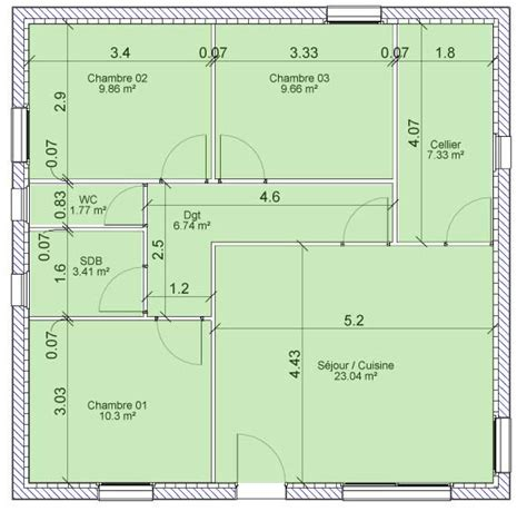 surface minimale chambre vente de maison surface habitable définition et mode de