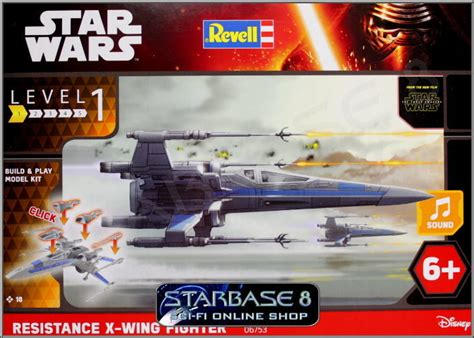 resistance x wing fighter revell build play wars bausatz