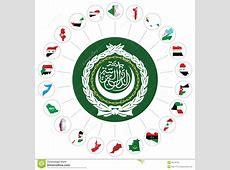 Arab League Member States Stock Vector Image 45735741