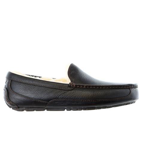 ugg australia ascot wool slippers mens ebay