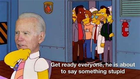 Joe Biden Goofy