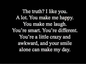 Top 60 I Like You Quotes - lovequotesmessages