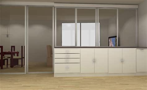 chambre nantes séparation pièce avec verrière intérieure nantes rangeocean