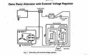 Delco Remy 8700018 Alternator Wiring Diagram