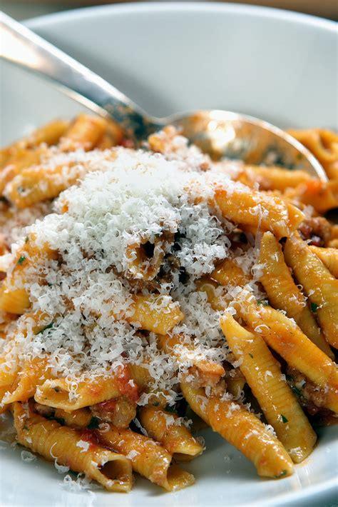 garganelli  ragu antica recipe nyt cooking