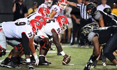 UGA football schedule 2020: Vanderbilt-Georgia set for ...