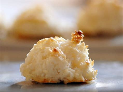 coconut macaroons coconut macaroons made with desiccated unsweetened coconut recipe dishmaps