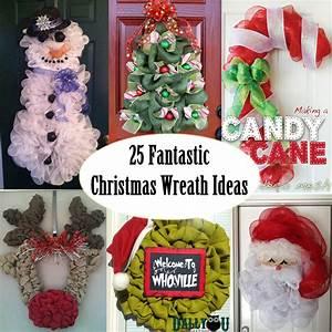 Unique, Christmas, Wreath, Ideas