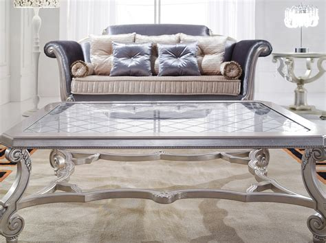 Glass Top Coffee Table Valence