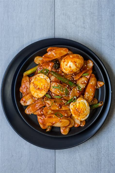 tteokbokki recipe korean spicy rice cake stir fry