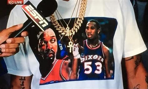 Tshirt Iverson allen iverson shirt a tribute to moses malone darryl