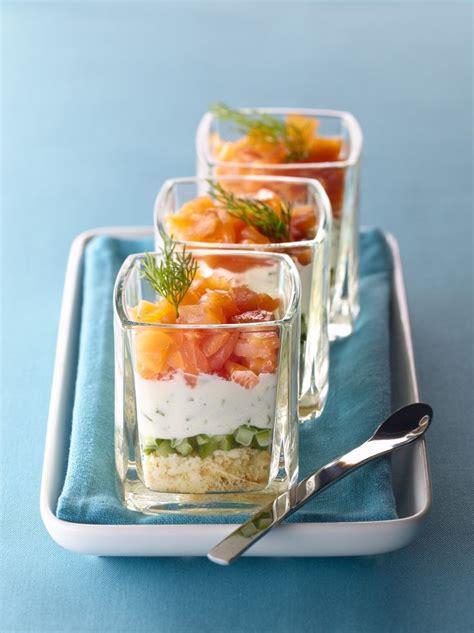 recette canapé saumon 17 meilleures idées à propos de verrine saumon concombre