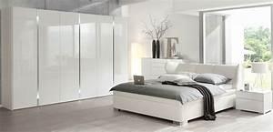 Schlafzimmer In Weiß Einrichten : welle room komplett schlafzimmer einrichten hochglanz o ~ Michelbontemps.com Haus und Dekorationen