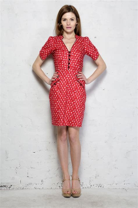 red tea dress nautical print dress  style dresses